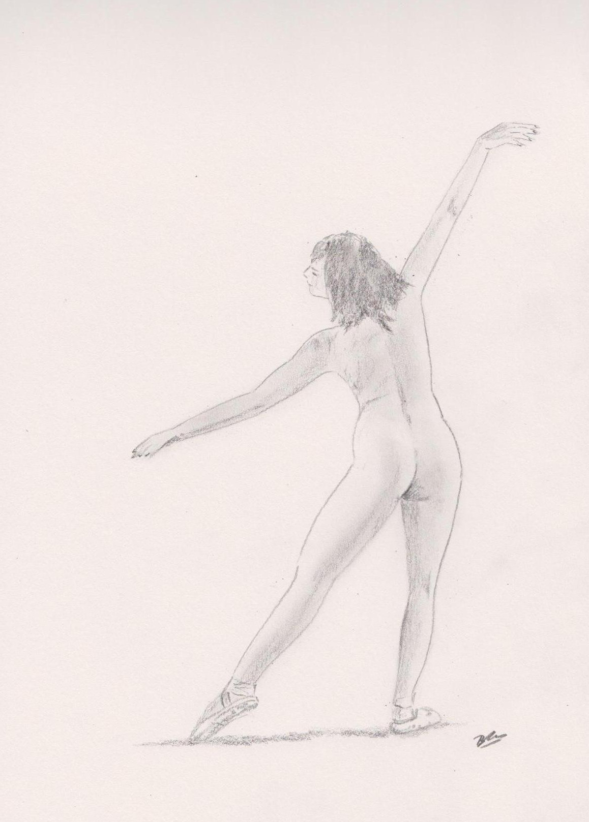 Natash Ballet - Pencil sketch